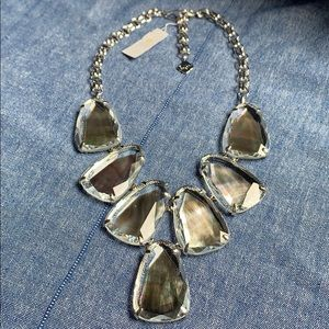 Kendra Scott Black Mother Of Pearl Harlow Necklace